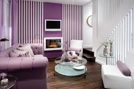 Appealing  Purple Modern Living Room Decorating Ideas Interior - Purple living room decorating ideas