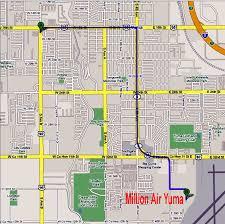 Yuma Arizona Map by Ubs Driver U0026 Pilot Airport Directions To Yuma Airport Nyl