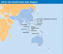 regional map of asia hr in the south east asia region ohchr regional office bangkok
