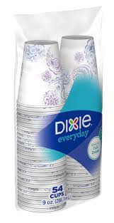 dixie cups dixie cold cups 9 oz 54 count walmart