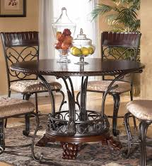 wood and metal dining table sets dining room ashley dining table with best design and material