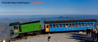 Trains In America Mount Washington Cog Railway Climb To The Top Of Mount