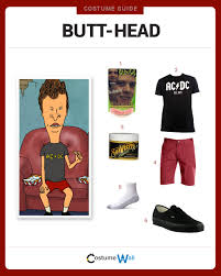 Beavis And Butthead Halloween by Dress Like Head Costume Halloween And Cosplay Guides