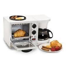 elite cuisine toaster elite cuisine ebk 200 3 in 1 breakfast center coffee toaster oven