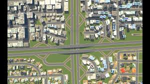 expressway interchange based off of central and lawrence in the