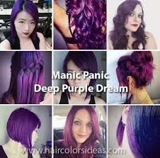 deep purple dream hair colors ideas