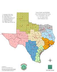 Map Of The State Of Texas Law Enforcement U2014 Texas Parks U0026 Wildlife Department