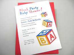adoption party invitations baby shower invitation custom adoption red blue yellow abc