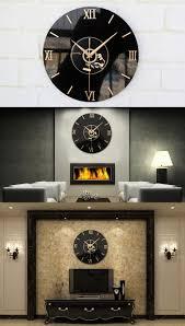 vintage vinyl record cd wall clock decorative clock gramophone