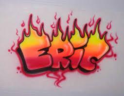 personalized airbrushed bubble letter graffiti t shirt we