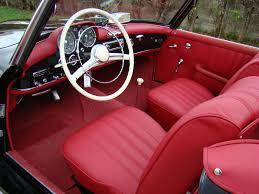 interior of 1961 mercedes benz 190sl 190sl interior pinterest