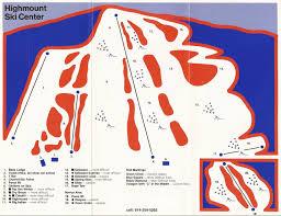 Green Circle Trail Map Highmount Skimap Org