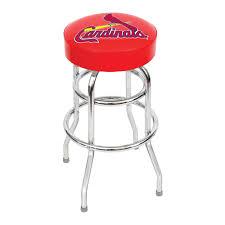 louis cardinals bar stool