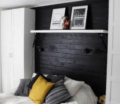rangement mural chambre tête de lit avec rangement en 57 dées pour ranger et décorer