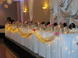 Wedding Head Table Decorations by Head Table Decorating Idea Debut Ideas Pinterest Head Tables