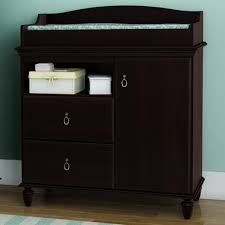 South Shore Changing Table Southshore Moonlight Changing Table In Mahogany Free Shipping