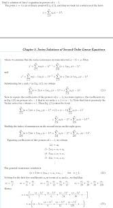 airy u0027s equation for series solutions to second order linear