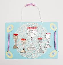 seder cups passover craft for kids a seder table wall hanging creative