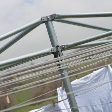household essentials 30 line parallel dryer steel arms walmart com
