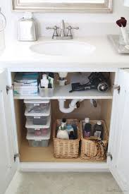Bathroom Drawer Storage by Best 25 Under Bathroom Sink Storage Ideas On Pinterest Bathroom