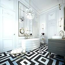 marble floor design a black and white rectangular flooring