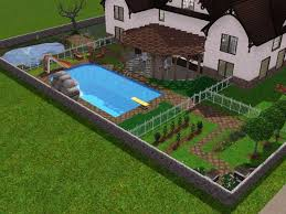 Sims 3 Garden Ideas Sims 3 Backyard Ideas Outdoor Furniture Design And Ideas