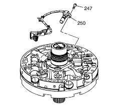 repair instructions off vehicle input speed sensor removal