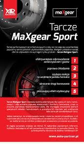 si e auto sport maxgear introduces 1200 types of tuning brake discs auto partner sa