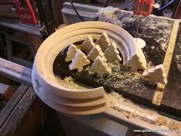 wood turned christmas ornamentsc j stiles woodworking
