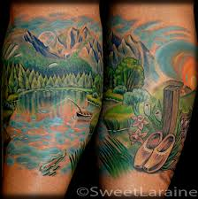 mountain lake by sweet laraine tattoonow