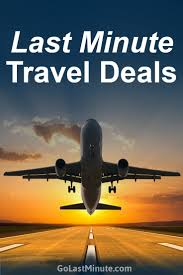 last minute travel deals find cheap deals w golastminute