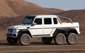 lifted mercedes mercedes benz g63 amg 6 6 to cost 600 000 in germany truck trend