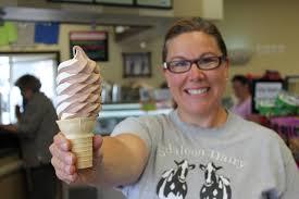halloween city lynden edaleen dairy delivers exceptional ice cream