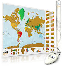 World Map Poster Large Amazon Com 2 X Scratch Off World Map With Country Flag Scratch