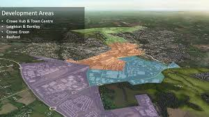 bentley crewe place north west mipim crewe masterplan unveiled ready for hs2