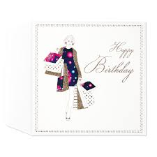 martini birthday wishes glamour 30th birthday card