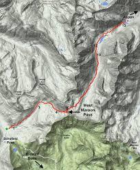aspen map hike crested butte to aspen