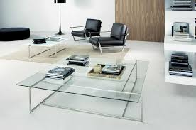 large glass coffee table square glass coffee table in living room chocoaddicts com