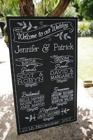 wedding program board chalkboard wedding program wedding photography