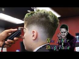 full length haircut tutorial the joker drop fade youtube