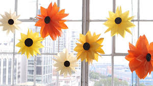Sunflower Home Decor by Diy Paper Bag Flowers Youtube