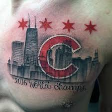 80 chicago cubs tattoo designs for men baseball ideas