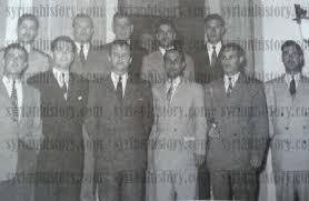 deuxieme bureau syrian history staff of the syrian deuxieme bureau 1954