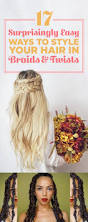 26 lazy hairstyling hacks 32 best hair images on pinterest hairstyles hair and braids