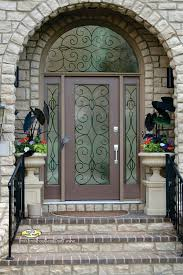 metal front doors with glass metal front doors for homes with glass
