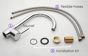 kitchen faucet connections brilliant stunning how to install kitchen faucet kitchen sink