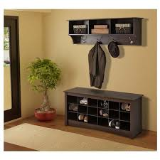 Entry Benches With Shoe Storage Bench Amazing Metal Entryway With Wood Seat Shoe Coat Rack Storage