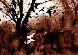 halloween background graveyard halloween wallpaper and background 1440x1012 id 301860