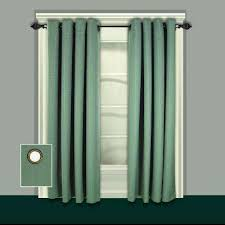 Green Grommet Curtains Blackout Green Curtains U0026 Drapes Window Treatments The
