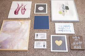 How To Design A Gallery Wall by How To Create A Gallery Wall Coffee With Summer